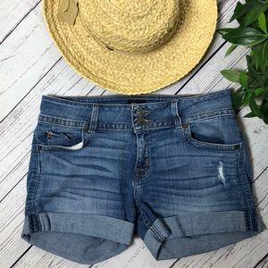 Hudson Ruby mid thigh shorts